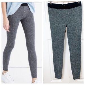 MADEWELL S Knit Leggings - GREY